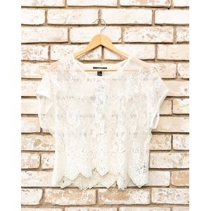 NWT Forever 21 Lace Top